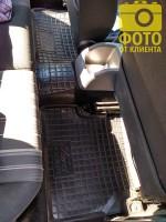 Фото 20 - Коврики в салон для Ford Focus II '04-11 резиновые, черные (AVTO-Gumm)