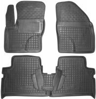 Коврики в салон для Ford C-Max '07-10 резиновые, черные (AVTO-Gumm)