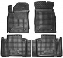 Коврики в салон для Geely Emgrand X7 '13- резиновые, черные (AVTO-Gumm)