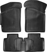 Коврики в салон для Lifan 320 '11- резиновые, черные (AVTO-Gumm)