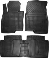 Коврики в салон для Mazda 6 '13- резиновые, черные (AVTO-Gumm)