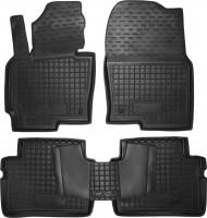 Коврики в салон для Mazda CX-5 '12-17 резиновые, черные (AVTO-Gumm)