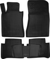 Коврики в салон для Mercedes E-Class W211 '02-09 резиновые, черные (AVTO-Gumm)