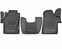 Коврики в салон для Mercedes Vito / Viano '03-13 резиновые, черные, передние (AVTO-Gumm)