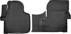 Коврики в салон для Mercedes Sprinter '06- резиновые, черные (AVTO-Gumm)