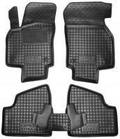 Коврики в салон для Opel Astra H '04-15, резиновые, черные (AVTO-Gumm)