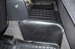 Фото 9 - Коврики в салон для Opel Omega B '94-03 резиновые, черные (AVTO-Gumm)