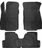 Коврики в салон для Opel Mokka '12- резиновые, черные (AVTO-Gumm)