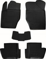 Коврики в салон для Peugeot 408 '12- резиновые, черные (AVTO-Gumm)