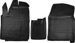 Коврики в салон для Peugeot Expert '07-, 2,0, резиновые, черные (AVTO-Gumm)