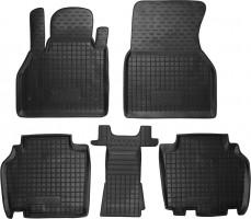 Коврики в салон для Renault Kangoo '09- резиновые, черные (AVTO-Gumm)