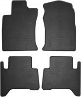 Ковры резиновые для Toyota Land Cruiser 120 Prado '03-09 резиновые (Stingray)