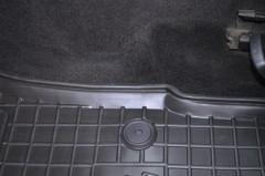 Фото 13 - Коврики в салон для Skoda Octavia A5 '05-13 резиновые, черные (AVTO-Gumm)