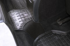 Фото 16 - Коврики в салон для Skoda Octavia A5 '05-13 резиновые, черные (AVTO-Gumm)