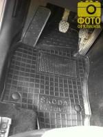 Фото 17 - Коврики в салон для Skoda Octavia A5 '05-13 резиновые, черные (AVTO-Gumm)