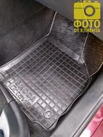 Фото 19 - Коврики в салон для Skoda Octavia A5 '05-13 резиновые, черные (AVTO-Gumm)