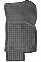Фото 3 - Коврики в салон для Skoda Octavia A5 '05-13 резиновые, черные (AVTO-Gumm)