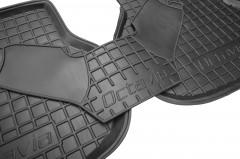 Фото 7 - Коврики в салон для Skoda Octavia A5 '05-13 резиновые, черные (AVTO-Gumm)