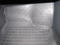 Фото 10 - Коврики в салон для Skoda Rapid '13- резиновые, черные (AVTO-Gumm)