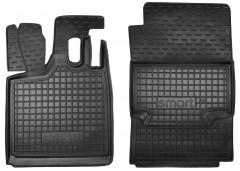 Коврики в салон для Mercedes Smart Fortwo '98-06 резиновые, черные (AVTO-Gumm)