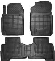 Коврики в салон для Suzuki Grand Vitara '06- резиновые, черные (AVTO-Gumm)