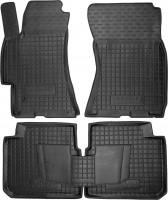 Коврики в салон для Subaru Legacy '04-10 резиновые, черные (AVTO-Gumm)