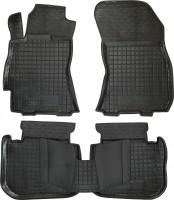 Коврики в салон для Subaru Outback '09-14 резиновые, черные (AVTO-Gumm)