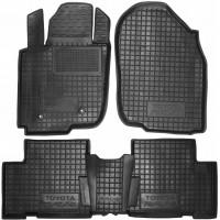 Коврики в салон для Toyota RAV4 '06-12 резиновые, черные (AVTO-Gumm)