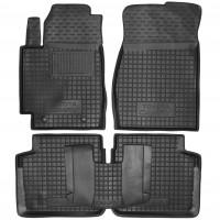 Коврики в салон для Toyota Camry V30 '02-06 EUR резиновые, черные (AVTO-Gumm)