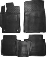 Коврики в салон для Toyota Camry V50/55 2011 - 2017 резиновые, черные (AVTO-Gumm)