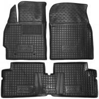 Коврики в салон для Toyota Auris '06-12 резиновые, черные (AVTO-Gumm)