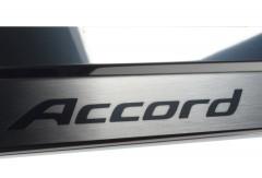Фото 3 - Накладки на пороги для Honda Accord Coupe '08- Usa (Premium)