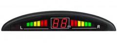Парктроник Prime-X 5600-2 проводной с датчиками черного цвета (4 датчика)