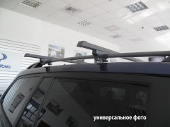 Багажник на рейлинги для Audi A4 Avant '00-05, сквозной (Десна-Авто)