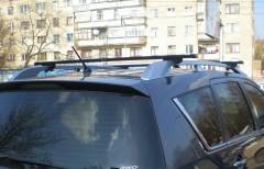 Багажник на рейлинги для BMW X3 E83 '03-09, сквозной (Десна-Авто)