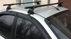 Багажник на крышу для Daewoo Lanos / Sens '98-, хетчбэк, сквозной (Десна-Авто)