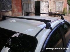 Фото 2 - Багажник на крышу для Daewoo Lanos / Sens '98- седан, сквозной (Десна-Авто)