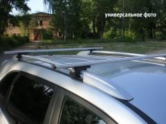 Багажник на рейлинги для Daewoo Matiz '01-, аэродинамический, сквозной (Десна-Авто)