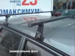 Багажник на водосток для Ford Transit '00-13, сквозной (Десна-Авто)
