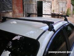 Фото 2 - Багажник на крышу для Geely MK / MK Cross HB '06-14 седан, сквозной (Десна-Авто)