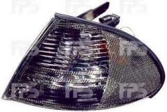 Указатель поворота BMW 3 E46 '98-01 левый и правый, дымчатый (DEPO) 200819GE