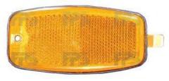 Указатель поворота на крыле Hyundai Santa Fe '06-10 CM левый/правый, желтый (DEPO) 923030B000