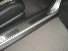 Фото 6 - Накладки на пороги для Nissan Teana '07- (Premium)