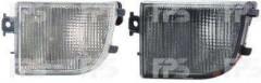Указатель поворота в бампере Volkswagen Passat B4 '94-96 правый, белый (DEPO) 3AD953156A