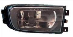 Противотуманная фара для BMW 5 E39 '96-00 левая (TYC) гладкое стекло