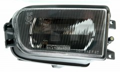 Противотуманная фара для BMW 5 E39 '96-00 правая (TYC) рифленое стекло