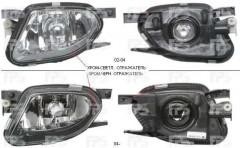 Противотуманная фара для Mercedes Bus Sprinter '06-12 левая, хром (TYC)