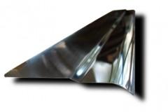 Фото 4 - Накладки на пороги для Ssang Yong Actyon 2006-2012 (Premium)