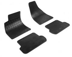 Коврики в салон для Seat Exeo '09- резиновые, черные (Rigum)