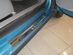 NataNiko Накладки на пороги для Volkswagen Golf V 2004-2009, 3-х дверный (Premium)